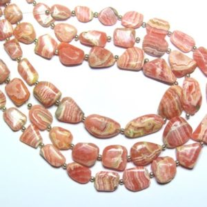 Shop Rhodochrosite Chip & Nugget Beads! Superb Quality Natural  Rhodochrosite Smooth Tumble Shape Beads Size 8x7mm To 10x19mm Approx 10''Inch Good Quality Wholesaler Price. | Natural genuine chip Rhodochrosite beads for beading and jewelry making.  #jewelry #beads #beadedjewelry #diyjewelry #jewelrymaking #beadstore #beading #affiliate #ad