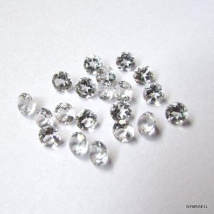 Shop Topaz Shapes! 25 piece 2mm White Topaz Faceted Round Loose Gemstone, White Topaz Round Faceted Loose Gemstone, White Topaz Faceted Round Gemstone   Natural genuine stones & crystals in various shapes & sizes. Buy raw cut, tumbled, or polished gemstones for making jewelry or crystal healing energy vibration raising reiki stones. #crystals #gemstones #crystalhealing #crystalsandgemstones #energyhealing #affiliate #ad