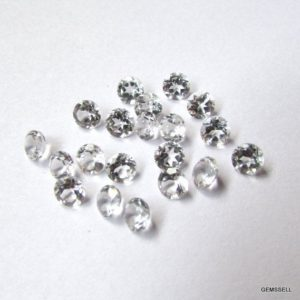 Shop Topaz Shapes! 25 Pieces 1.5mm White Topaz Faceted Round Loose Gemstone, White Topaz Round Faceted Loose Gemstone, White Topaz Faceted Round Gemstone   Natural genuine stones & crystals in various shapes & sizes. Buy raw cut, tumbled, or polished gemstones for making jewelry or crystal healing energy vibration raising reiki stones. #crystals #gemstones #crystalhealing #crystalsandgemstones #energyhealing #affiliate #ad