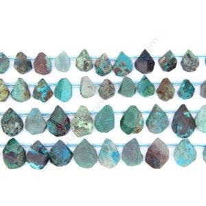 Shop Turquoise Chip & Nugget Beads! Raw Turquoise Drop Pendants, Genuine Raw Turquoise Charms, Natural Drilled Blue Turquoise Rough Beads, Raw Gemstone, Healing Energy Crystal | Natural genuine chip Turquoise beads for beading and jewelry making.  #jewelry #beads #beadedjewelry #diyjewelry #jewelrymaking #beadstore #beading #affiliate #ad