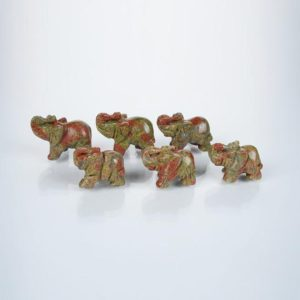 Shop Unakite Shapes! Elephant  Unakite Gemstone Statues,Rooms Decor Statues,Popular Decor Figurines,Hand Engraving Crystal Figurines,Delicate Figurines. | Natural genuine stones & crystals in various shapes & sizes. Buy raw cut, tumbled, or polished gemstones for making jewelry or crystal healing energy vibration raising reiki stones. #crystals #gemstones #crystalhealing #crystalsandgemstones #energyhealing #affiliate #ad