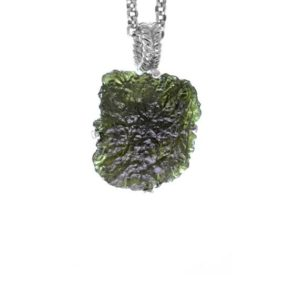 Shop Moldavite Necklaces! Womens Moldavite Necklace, Silver Moldavite Necklace, Natural Gemstone Sterling Silver Jewelry, Moldavite Pendant | Natural genuine Moldavite necklaces. Buy crystal jewelry, handmade handcrafted artisan jewelry for women.  Unique handmade gift ideas. #jewelry #beadednecklaces #beadedjewelry #gift #shopping #handmadejewelry #fashion #style #product #necklaces #affiliate #ad