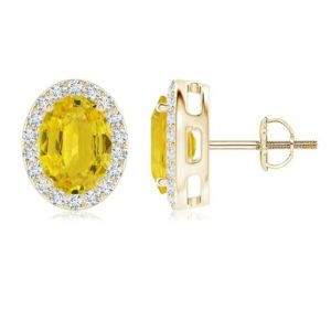 Shop Yellow Sapphire Earrings! Yellow Sapphire Earrings- Silver Sapphire Earrings- Yellow Gemstone Earrings- Oval Sapphire Earrings | Natural genuine Yellow Sapphire earrings. Buy crystal jewelry, handmade handcrafted artisan jewelry for women.  Unique handmade gift ideas. #jewelry #beadedearrings #beadedjewelry #gift #shopping #handmadejewelry #fashion #style #product #earrings #affiliate #ad