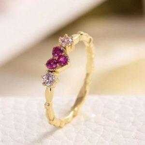 Shop Zircon Rings! AAA Zircon Ring,925 Silver Ring,Beautiful Heart Shaped Ring,Ring For Woman,Anniversary Gift,Wedding Gift,Gift For Her   Natural genuine Zircon rings, simple unique alternative gemstone engagement rings. #rings #jewelry #bridal #wedding #jewelryaccessories #engagementrings #weddingideas #affiliate #ad