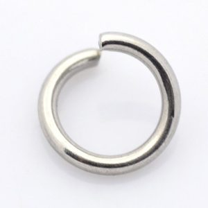 Shop Jump Rings! 100+ 3mmx0.5mm Stainless Steel Open Jump Rings with a 2mm inner diameter | Shop jewelry making and beading supplies, tools & findings for DIY jewelry making and crafts. #jewelrymaking #diyjewelry #jewelrycrafts #jewelrysupplies #beading #affiliate #ad