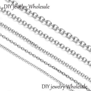 Shop Chain for Jewelry Making! 10(m) 39ft 316l Stainless Steel Chain / O Chain Steel / chain, Round Jewelry Making Chain, Lot Size Bulk Chain, Hypoallergenic, non Tarnish | Shop jewelry making and beading supplies, tools & findings for DIY jewelry making and crafts. #jewelrymaking #diyjewelry #jewelrycrafts #jewelrysupplies #beading #affiliate #ad