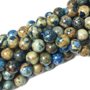 Shop Azurite Round Beads! 10mm Natural Azurite Beads Gemstone Spacer Round Bead for Handcraft Bracelet Necklace DIY Jewelry Making Design 15 inch Strands,Azurite Bead | Natural genuine round Azurite beads for beading and jewelry making.  #jewelry #beads #beadedjewelry #diyjewelry #jewelrymaking #beadstore #beading #affiliate #ad