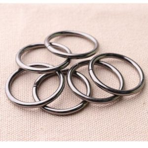 Shop Jump Rings! 12pcs Jump Ring 25*11mm (OM*IM) Black Split Ring Metal Open Jump Ring  Link Connector O Ring | Shop jewelry making and beading supplies, tools & findings for DIY jewelry making and crafts. #jewelrymaking #diyjewelry #jewelrycrafts #jewelrysupplies #beading #affiliate #ad