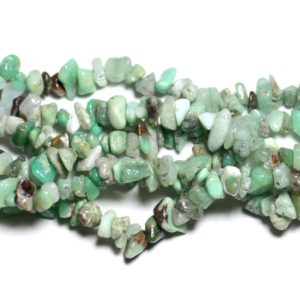 Shop Chrysoprase Chip & Nugget Beads! 140pc around – beads of stone – Chrysoprase rock Chips 5-12mm – 4558550036025 | Natural genuine chip Chrysoprase beads for beading and jewelry making.  #jewelry #beads #beadedjewelry #diyjewelry #jewelrymaking #beadstore #beading #affiliate #ad