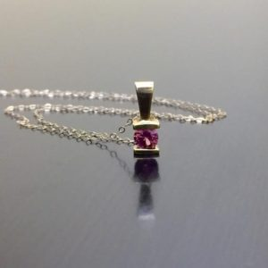 Shop Pink Sapphire Necklaces! 14K Yellow Gold Pink Sapphire Necklace – 14K Gold Pink Sapphire Pendant – 14K Yellow Gold Necklace – Sapphire Jewelry – Fine Gold Jewelry   Natural genuine Pink Sapphire necklaces. Buy crystal jewelry, handmade handcrafted artisan jewelry for women.  Unique handmade gift ideas. #jewelry #beadednecklaces #beadedjewelry #gift #shopping #handmadejewelry #fashion #style #product #necklaces #affiliate #ad
