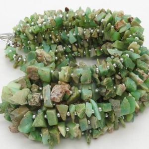 Shop Chrysoprase Chip & Nugget Beads! 16 Inches Strand Natural Chrysoprase Rough,Beads,Anklets 10X5 To 7X4 MM Approx Wholesale Price New Arrival R3 | Natural genuine chip Chrysoprase beads for beading and jewelry making.  #jewelry #beads #beadedjewelry #diyjewelry #jewelrymaking #beadstore #beading #affiliate #ad