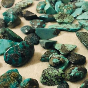 Shop Turquoise Stones & Crystals! 25g – Turquoise Tumbled Stones | Natural genuine stones & crystals in various shapes & sizes. Buy raw cut, tumbled, or polished gemstones for making jewelry or crystal healing energy vibration raising reiki stones. #crystals #gemstones #crystalhealing #crystalsandgemstones #energyhealing #affiliate #ad