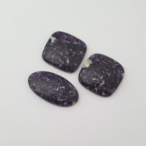 Shop Lepidolite Cabochons! 3 Pieces Lot Of Lepidolite Cabochon | Natural genuine stones & crystals in various shapes & sizes. Buy raw cut, tumbled, or polished gemstones for making jewelry or crystal healing energy vibration raising reiki stones. #crystals #gemstones #crystalhealing #crystalsandgemstones #energyhealing #affiliate #ad