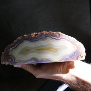 Shop Raw & Rough Agate Stones! Large Agate Geode ~  Agate Geode Halve ~ Fluorescent Agate | Natural genuine stones & crystals in various shapes & sizes. Buy raw cut, tumbled, or polished gemstones for making jewelry or crystal healing energy vibration raising reiki stones. #crystals #gemstones #crystalhealing #crystalsandgemstones #energyhealing #affiliate #ad