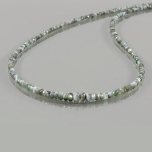 """Shop Alexandrite Necklaces! AAA Alexandrite cat's eye faceted rondelle beads necklace, 20"""" Natural Alexandrite Graduated 2 to 4mm Cat's Eye Necklace, Christmas Gift   Natural genuine Alexandrite necklaces. Buy crystal jewelry, handmade handcrafted artisan jewelry for women.  Unique handmade gift ideas. #jewelry #beadednecklaces #beadedjewelry #gift #shopping #handmadejewelry #fashion #style #product #necklaces #affiliate #ad"""