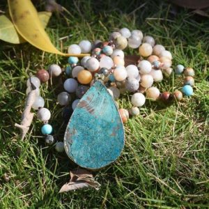 Shop Amazonite Necklaces! Natural Amazonite Stone Healing Necklace-Inspirational Balancing Calming Spiritual Protection Meditation Anxiety Stress Relief Necklace | Natural genuine Amazonite necklaces. Buy crystal jewelry, handmade handcrafted artisan jewelry for women.  Unique handmade gift ideas. #jewelry #beadednecklaces #beadedjewelry #gift #shopping #handmadejewelry #fashion #style #product #necklaces #affiliate #ad
