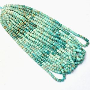 Shop Amazonite Rondelle Beads! Amazonite Gemstone 6mm-7mm Smooth Rondelle Beads | 16inch Strand | Natural Multi Amazonite Semi Precious Gemstone Beads for Jewelry Making | Natural genuine rondelle Amazonite beads for beading and jewelry making.  #jewelry #beads #beadedjewelry #diyjewelry #jewelrymaking #beadstore #beading #affiliate #ad