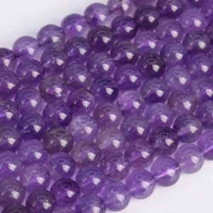 Shop Amethyst Round Beads! Genuine Natural Amethyst Loose Beads Grade AA Round Shape 6mm 8mm 10mm 12mm | Natural genuine round Amethyst beads for beading and jewelry making.  #jewelry #beads #beadedjewelry #diyjewelry #jewelrymaking #beadstore #beading #affiliate #ad