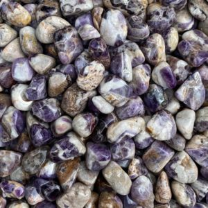 Shop Tumbled Amethyst Crystals & Pocket Stones! 1.5 oz Chevron Amethyst Tumble Stone, Banded Amethyst, Polished Tumbled Stone, Dogtooth Amethyst | Natural genuine stones & crystals in various shapes & sizes. Buy raw cut, tumbled, or polished gemstones for making jewelry or crystal healing energy vibration raising reiki stones. #crystals #gemstones #crystalhealing #crystalsandgemstones #energyhealing #affiliate #ad