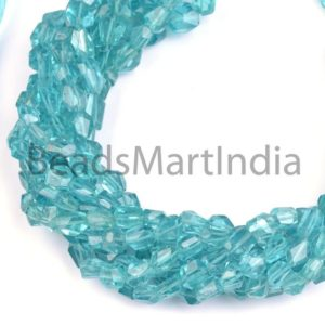 Shop Apatite Chip & Nugget Beads! Blue Apatite Faceted Nugget Shape Beads, Apatite Nugget Shape Beads, Sky Apatite Fancy Nuggets, Blue Apatite Faceted Nuggets   Natural genuine chip Apatite beads for beading and jewelry making.  #jewelry #beads #beadedjewelry #diyjewelry #jewelrymaking #beadstore #beading #affiliate #ad
