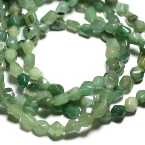 Shop Aventurine Chip & Nugget Beads! 10pc – stone beads – green Aventurine faceted Nuggets 7-10mm – 4558550084682 | Natural genuine chip Aventurine beads for beading and jewelry making.  #jewelry #beads #beadedjewelry #diyjewelry #jewelrymaking #beadstore #beading #affiliate #ad