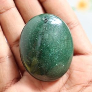 Shop Tumbled Aventurine Crystals & Pocket Stones! Green Aventurine Crystal, Green Aventurine Tumble Stone, Green Aventurine Tumbled Stone, Pocket Stone, Worry Stone, High Quality Crystals | Natural genuine stones & crystals in various shapes & sizes. Buy raw cut, tumbled, or polished gemstones for making jewelry or crystal healing energy vibration raising reiki stones. #crystals #gemstones #crystalhealing #crystalsandgemstones #energyhealing #affiliate #ad