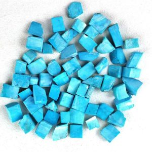 Shop Turquoise Stones & Crystals! Best quality 50 Pieces Natural Turquoise Rough,Loose Gemstone,6-8 MM Approx,Rough Gemstone,Turquoise Rough,Undrilled Rough,Wholesale Price | Natural genuine stones & crystals in various shapes & sizes. Buy raw cut, tumbled, or polished gemstones for making jewelry or crystal healing energy vibration raising reiki stones. #crystals #gemstones #crystalhealing #crystalsandgemstones #energyhealing #affiliate #ad