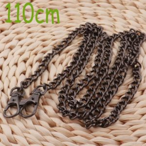 Shop Chain for Jewelry Making! Black Chain, 1.1m, bag Chain, handbag Chain, jewelry Making Chain, keychain, o Links, gift For Her, women Chain-2 Pcs (lt827) | Shop jewelry making and beading supplies, tools & findings for DIY jewelry making and crafts. #jewelrymaking #diyjewelry #jewelrycrafts #jewelrysupplies #beading #affiliate #ad