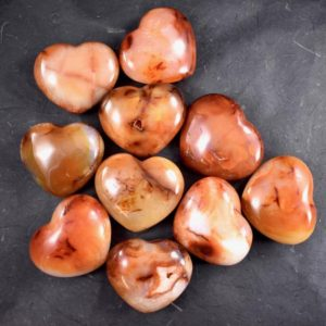 Shop Carnelian Shapes! Carnelian Hearts // Polished Carnelian // Crystal Heart // Metaphysical Stone // Madagascar Mineral // Village Silversmith | Natural genuine stones & crystals in various shapes & sizes. Buy raw cut, tumbled, or polished gemstones for making jewelry or crystal healing energy vibration raising reiki stones. #crystals #gemstones #crystalhealing #crystalsandgemstones #energyhealing #affiliate #ad