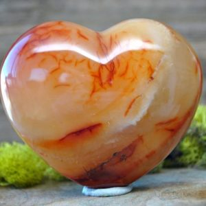 Shop Carnelian Stones & Crystals! Red Carnelian Crystal Heart  – 1245.60 | Natural genuine stones & crystals in various shapes & sizes. Buy raw cut, tumbled, or polished gemstones for making jewelry or crystal healing energy vibration raising reiki stones. #crystals #gemstones #crystalhealing #crystalsandgemstones #energyhealing #affiliate #ad