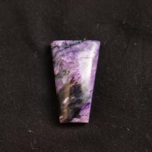 Shop Charoite Stones & Crystals! Beautiful high grade purple charoite stone, Lots Of Healing Properties And With oval Shaped cabochon, crystal, healing stone.   Natural genuine stones & crystals in various shapes & sizes. Buy raw cut, tumbled, or polished gemstones for making jewelry or crystal healing energy vibration raising reiki stones. #crystals #gemstones #crystalhealing #crystalsandgemstones #energyhealing #affiliate #ad