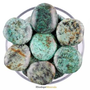 Shop Chrysocolla Shapes! One 1 Chrysocolla Smooth Stone, Chrysocolla Palm Stone, Chrysocolla Smooth Stones, Chrysocolla Palm Stones, Chrysocolla Smooth Stones, Gift   Natural genuine stones & crystals in various shapes & sizes. Buy raw cut, tumbled, or polished gemstones for making jewelry or crystal healing energy vibration raising reiki stones. #crystals #gemstones #crystalhealing #crystalsandgemstones #energyhealing #affiliate #ad