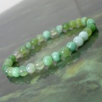 Natural Australian Chrysoprase 5 Mm Bracelet Grade A, Natural Gemstone Bracelet, Unisex Women Men Bracelet, Beaded Bracelet +gift Bag | Natural genuine Gemstone jewelry. Buy crystal jewelry, handmade handcrafted artisan jewelry for women.  Unique handmade gift ideas. #jewelry #beadedjewelry #beadedjewelry #gift #shopping #handmadejewelry #fashion #style #product #jewelry #affiliate #ad
