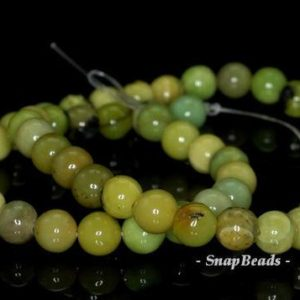 Shop Chrysoprase Round Beads! 8mm Chrysoprase Gemstone Green Round 8mm Loose Beads 16 inch Full Strand (90188739-83) | Natural genuine round Chrysoprase beads for beading and jewelry making.  #jewelry #beads #beadedjewelry #diyjewelry #jewelrymaking #beadstore #beading #affiliate #ad