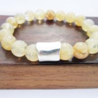 Natural Citrine Bracelet, Men Solar Plexus / Sacral Chakra Bracelet, Men Healing Citrine Abundance Bracelet Men Citrine Bracelet | Natural genuine Gemstone jewelry. Buy crystal jewelry, handmade handcrafted artisan jewelry for women.  Unique handmade gift ideas. #jewelry #beadedjewelry #beadedjewelry #gift #shopping #handmadejewelry #fashion #style #product #jewelry #affiliate #ad