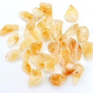 "Raw Citrine Crystal (Heat Treated) – ~0.5"" – Citrine Stone – Raw Citrine stone – Healing crystals and stones – citrine stone treated 