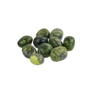 Shop Tumbled Serpentine Crystals & Pocket Stones! Dark Green Polished Stones | Real Serpentine Tumbled Stone | Natural genuine stones & crystals in various shapes & sizes. Buy raw cut, tumbled, or polished gemstones for making jewelry or crystal healing energy vibration raising reiki stones. #crystals #gemstones #crystalhealing #crystalsandgemstones #energyhealing #affiliate #ad