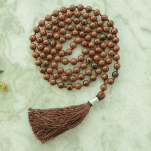 Shop Mahogany Obsidian Necklaces! Decision Making Mala 8MM, Mahogany Obsidian Necklace, 108 Mala Beads, Handmade Necklace, Mahogany Obsidian Mala, Statement Necklace | Natural genuine Mahogany Obsidian necklaces. Buy crystal jewelry, handmade handcrafted artisan jewelry for women.  Unique handmade gift ideas. #jewelry #beadednecklaces #beadedjewelry #gift #shopping #handmadejewelry #fashion #style #product #necklaces #affiliate #ad