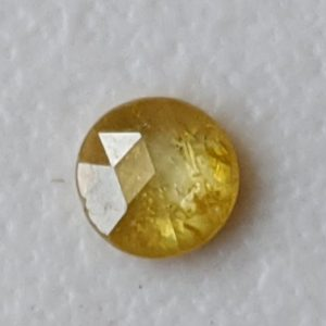 Shop Diamond Cabochons! 3mm Rose Cut Diamond, 0.10 Cts Natural Yellow Round Rose Cut Diamond, Flat Back Diamond Cabochon, Rose Cut Diamond for Jewelry – PPD626 | Natural genuine stones & crystals in various shapes & sizes. Buy raw cut, tumbled, or polished gemstones for making jewelry or crystal healing energy vibration raising reiki stones. #crystals #gemstones #crystalhealing #crystalsandgemstones #energyhealing #affiliate #ad