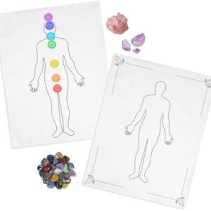 Shop Crystal Healing Charging Plates & Crystal Grid Mats! Distance Healing Mat Combo Pack | Distance Chakra Healing, Distance Crystal Healing, Distance Healing Chart, Gift for Healer, Reiki, Chakra | Shop jewelry making and beading supplies, tools & findings for DIY jewelry making and crafts. #jewelrymaking #diyjewelry #jewelrycrafts #jewelrysupplies #beading #affiliate #ad