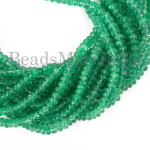 Shop Emerald Rondelle Beads! Genuine Colombian Emerald Beads, Emerald Rondelle Beads, Emerald Smooth Beads,Colombian Emerald Beads,Colombian Emerald Plain Rondelle Beads | Natural genuine rondelle Emerald beads for beading and jewelry making.  #jewelry #beads #beadedjewelry #diyjewelry #jewelrymaking #beadstore #beading #affiliate #ad