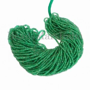 Shop Emerald Rondelle Beads! Top Quality Emerald Plain Rondelle Gemstone Beads, Emerald Smooth Rondelle Beads, Emerald Smooth Beads, Emerald Plain Beads, Emerald Beads | Natural genuine rondelle Emerald beads for beading and jewelry making.  #jewelry #beads #beadedjewelry #diyjewelry #jewelrymaking #beadstore #beading #affiliate #ad
