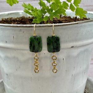 Shop Ruby Zoisite Earrings! Faceted Ruby Zoisite Earrings // Dangle Earrings // Ruby Zoisite | Natural genuine Ruby Zoisite earrings. Buy crystal jewelry, handmade handcrafted artisan jewelry for women.  Unique handmade gift ideas. #jewelry #beadedearrings #beadedjewelry #gift #shopping #handmadejewelry #fashion #style #product #earrings #affiliate #ad