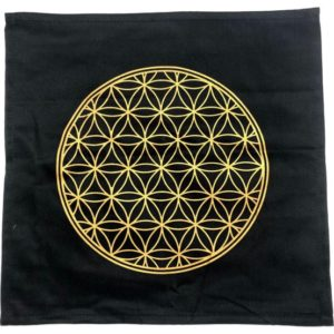 Shop Crystal Healing Charging Plates & Crystal Grid Mats! Flower of Life Crystal Grid Cloth – Printed Cotton Crystal Grid – Flower of life – Healing crystals – Crystal Grid Mat – Sacred Geometry | Shop jewelry making and beading supplies, tools & findings for DIY jewelry making and crafts. #jewelrymaking #diyjewelry #jewelrycrafts #jewelrysupplies #beading #affiliate #ad