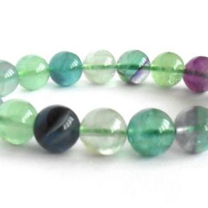 Shop Fluorite Bracelets! AAA fluorite bracelet purple green blue 8mm, 6mm AAA fluorite bracelet, Fluorite stretch bracelet top quality beads, Fluorite Calming chakra | Natural genuine Fluorite bracelets. Buy crystal jewelry, handmade handcrafted artisan jewelry for women.  Unique handmade gift ideas. #jewelry #beadedbracelets #beadedjewelry #gift #shopping #handmadejewelry #fashion #style #product #bracelets #affiliate #ad