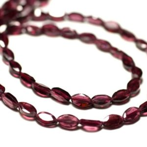 Shop Garnet Faceted Beads! -Stone beads – Garnet Marquise faceted Navettes 8741140022591-6-7mm 20pc   Natural genuine faceted Garnet beads for beading and jewelry making.  #jewelry #beads #beadedjewelry #diyjewelry #jewelrymaking #beadstore #beading #affiliate #ad