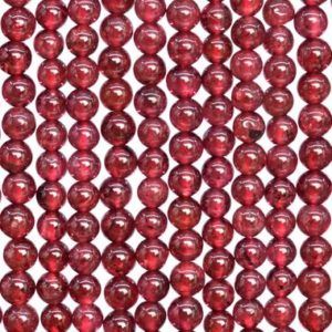 Shop Garnet Round Beads! Genuine Natural Purple Red Garnet Loose Beads Mozambique Grade AA Round Shape 3mm   Natural genuine round Garnet beads for beading and jewelry making.  #jewelry #beads #beadedjewelry #diyjewelry #jewelrymaking #beadstore #beading #affiliate #ad