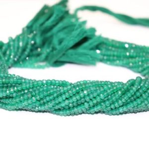Shop Onyx Rondelle Beads! Green Onyx Faceted Rondelle Beads    Green Onyx Beads   Green Onyx Rondelle Beads   Green Onyx Beads Strand | Natural genuine rondelle Onyx beads for beading and jewelry making.  #jewelry #beads #beadedjewelry #diyjewelry #jewelrymaking #beadstore #beading #affiliate #ad