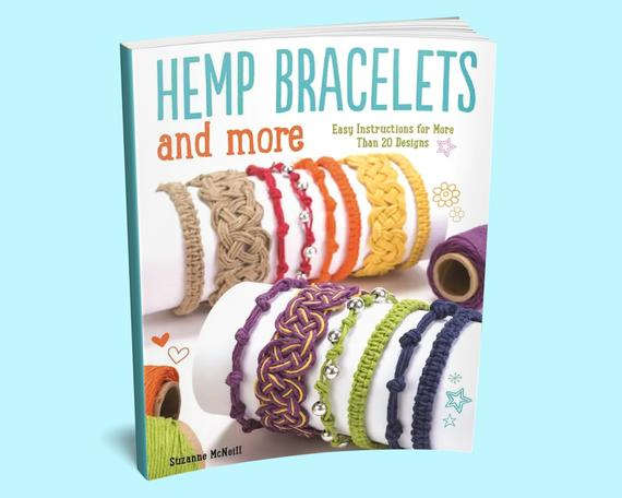 Hemp Bracelets and More Book – Hemp Jewelry Book – Macrame Jewelry Making   Shop jewelry making and beading supplies, tools & findings for DIY jewelry making and crafts. #jewelrymaking #diyjewelry #jewelrycrafts #jewelrysupplies #beading #affiliate #ad