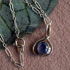 Shop Iolite Pendants! Iolite Necklace / Blue Iolite Pendant / Dainty Silver necklace / Tourmaline Pendant / Moonstone Sterling Necklace / Lapis Sterling Pendant   Natural genuine Iolite pendants. Buy crystal jewelry, handmade handcrafted artisan jewelry for women.  Unique handmade gift ideas. #jewelry #beadedpendants #beadedjewelry #gift #shopping #handmadejewelry #fashion #style #product #pendants #affiliate #ad
